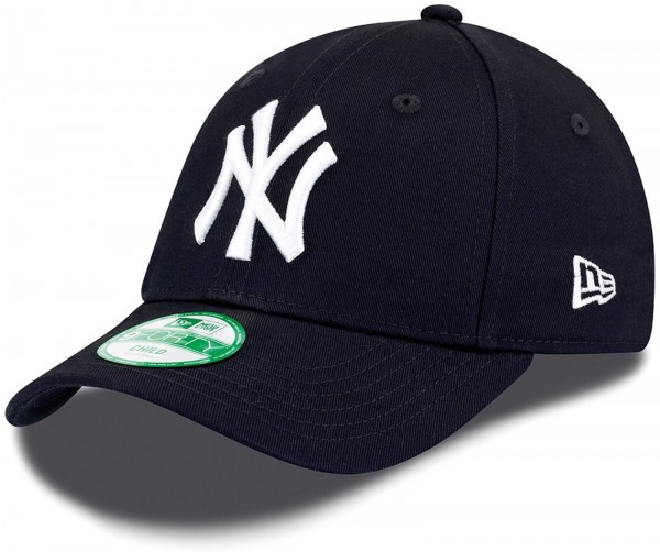 New Era - MLB New York Yankees Essential Kids 9Forty Cap - Blau