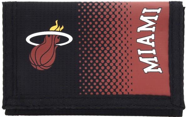 Forever Collectibles - NBA Miami Heat Portemonnaie - Schwarz Vorderansicht