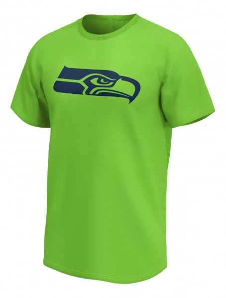 Fanatics - NFL Seattle Seahawks Mono Core Graphic T-Shirt - Grün Vorderansicht