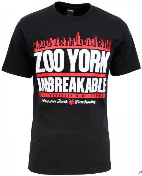 Zoo York - Run Dmzoo T-Shirt - Schwarz ansicht vorderseite