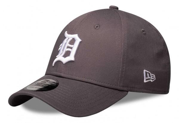 New Era - MLB Detroit Tigers League Essential 39Thirty Stretch Cap - Grau Vorderansicht