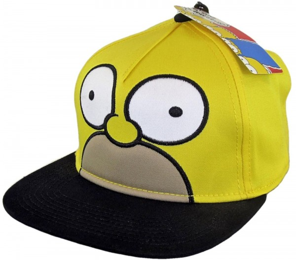 The Simpsons - The Homer Snapback Kids Cap - Gelb