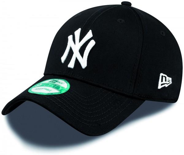 New Era - MLB New York Yankees Essential 9Forty Cap - Schwarz-Weiß