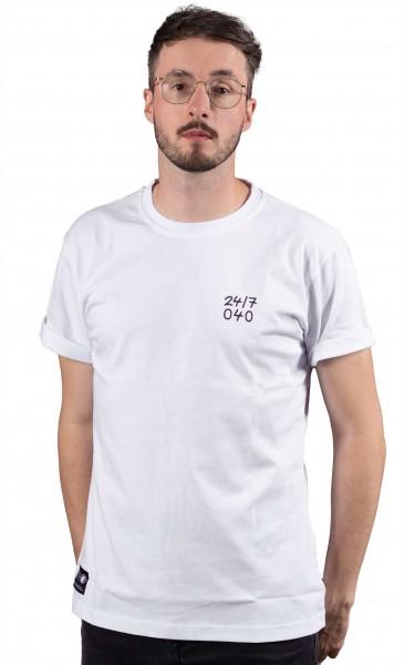Aight* - 24/7 040 T-Shirt - Weiß Vorderansicht