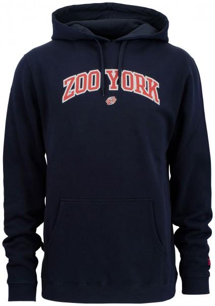 Zoo York - Ivy Arch Hoodie - Blau Vorderansicht