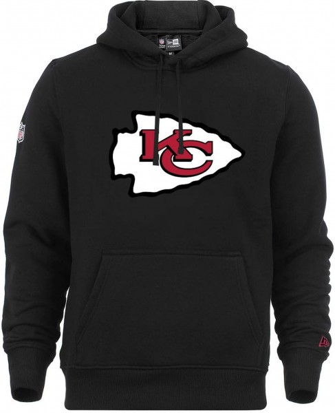New Era - NFL Kansas City Chiefs Team Logo Hoodie - black
