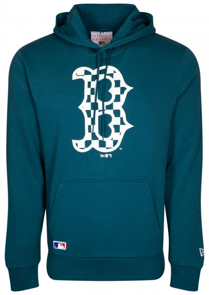 New Era - MLB Boston Red Sox Infill Logo Hoodie - Blau