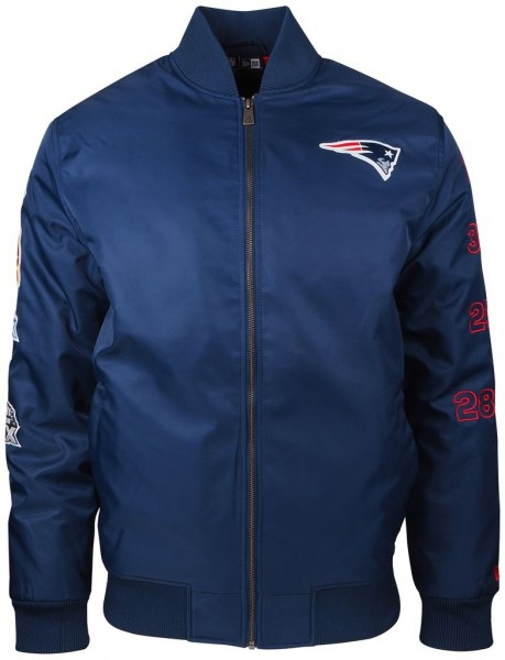 New Era - NFL New England Patriots SB50 Bomber Jacke - navy