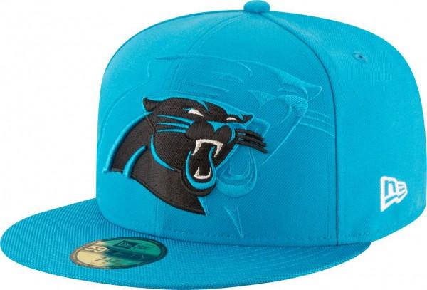 New Era - NFL Carolina Panthers 2016/17 Sideline 59Fifty Cap - blue
