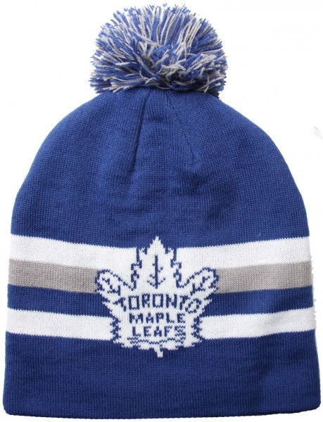 Mitchell & Ness - NHL Toronto Maple Leafs Striper Beanie - blue