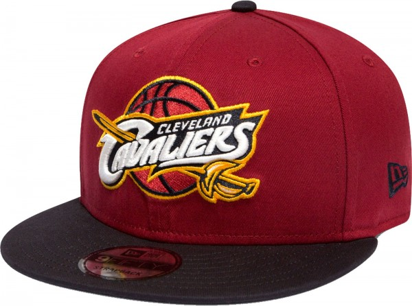 New Era - NBA Cleveland Cavaliers 9Fifty Snapback Cap - red-black