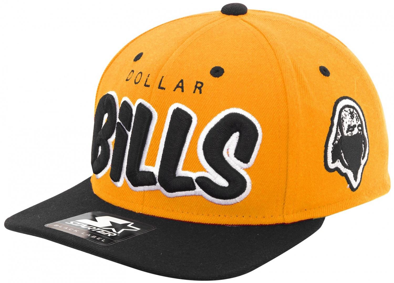Rocawear - Starter - Dollar Bills Snapback Cap - yellow-black | eBay
