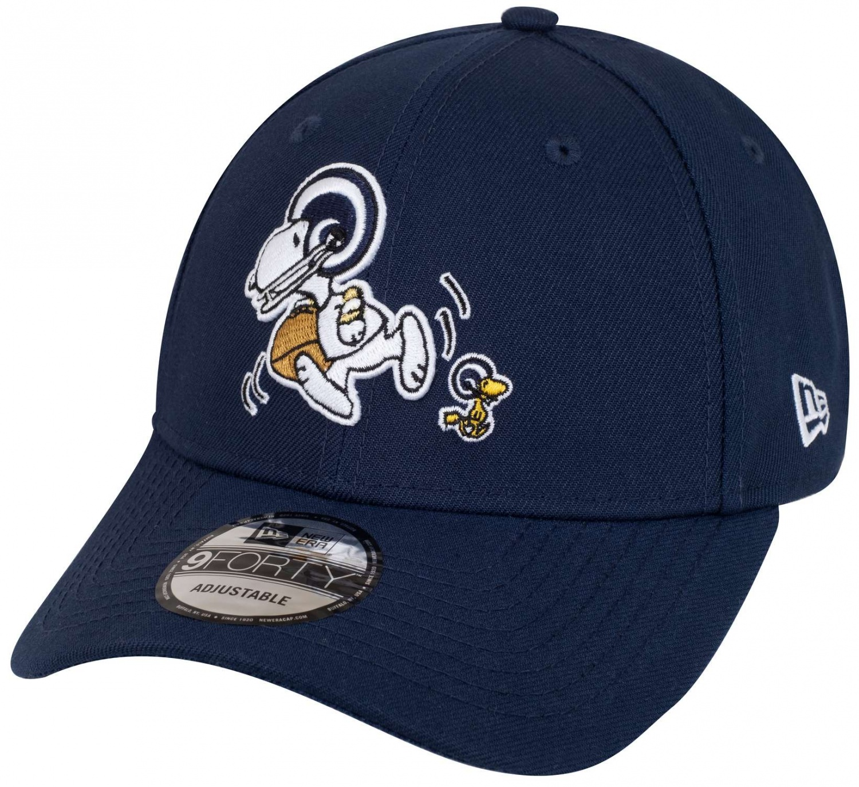 NEW ERA 9Forty Peanuts NFL Chargers Cap Basecap Baseballcap NFL-Cap Curved Brim
