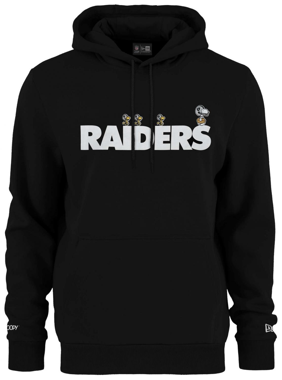 Las Vegas Raiders T-Shirt Snoopy NFL Football New Era Peanuts Woodstock Large